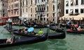 Traffic jam in Venice Royalty Free Stock Photo