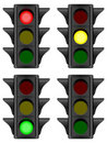 Traffic light Stock Images