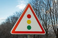 Traffic light sign Royalty Free Stock Photo