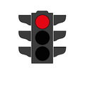 Traffic light signal icon Royalty Free Stock Photo