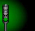 Traffic light vector illustration art Stock Photography