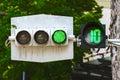 Traffic lights, traffic light, stoplight, traffic signal Royalty Free Stock Photo