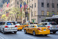 Traffic in New York City Royalty Free Stock Photo