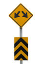 TRAFFIC Sign Yellow,Two Way