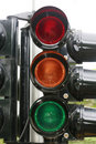 Traffic signal Stock Photography