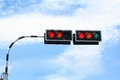 Traffic signal Royalty Free Stock Photo