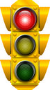 Traffic_signal_STOP Royalty Free Stock Photography