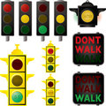 Traffic signals Stock Photo