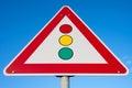 Traffic signals Royalty Free Stock Photo
