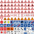 Traffic Signs Collection [1] Royalty Free Stock Photo