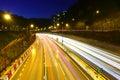Traffic in urban city