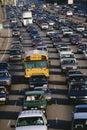 Traffico pesante Fotografie Stock Libere da Diritti