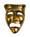 Tragedy mask Royalty Free Stock Photo