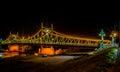 Traian Bridge Arad, Romania Ni...