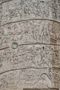 Traian column detail Royalty Free Stock Photo