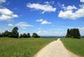 A trail through the beautiful Bavaria Royalty Free Stock Photo