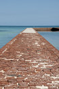 Trail at Dry Tortugas Stock Images