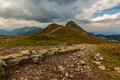 Trail to swinica peak photo was taken in high tatras on polish side from kasprowy wierch is leading poland Royalty Free Stock Images