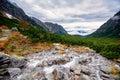 Trail up to Mt Rysy in High Tatras, Slovakia