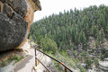 Trail In Walnut Canyon