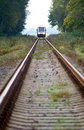 Train approaching Royalty Free Stock Photo
