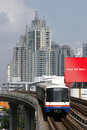 Train in Bangkok, Thailand Royalty Free Stock Images