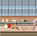 Train big station
