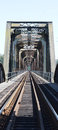 Train Bridge Steel Royalty Free Stock Photo