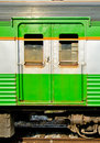 Train doors of of thailand Stock Photography