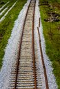 stock image of  Train line in Paranapiacaba Brazil