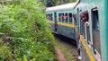 Train madagascar fianarantsoa passengers on the last that exists in that makes the trip from fianarantsoa to manakara Royalty Free Stock Photos