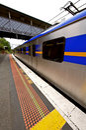 Train Melbourne metro Royalty Free Stock Photo