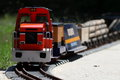 Train miniature and toy hobbie Stock Image