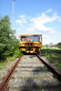 Train moving Royalty Free Stock Image