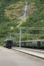 Train in Norway Royalty Free Stock Photo