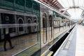 Train at Paddington station in London Royalty Free Stock Photo