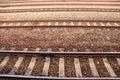 Train Rail Royalty Free Stock Photo
