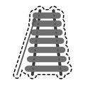 Train railway icon