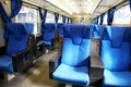 Train Seats Royalty Free Stock Photo