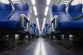 Train seats Royalty Free Stock Photo