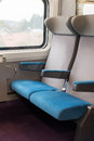 Train TGV seats Royalty Free Stock Photo