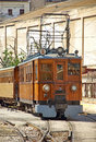 Train of Soller Royalty Free Stock Photography