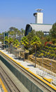 Train Station, North County San Diego Royalty Free Stock Photo