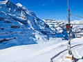 Train station to Jungfraujoch, Switzerland Stock Photos