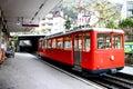 Train to Mount Rigi, Luzern, Switzerland Royalty Free Stock Photo