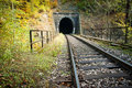Train tunnel Royalty Free Stock Image