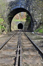 Train tunnel Royalty Free Stock Photo