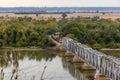 Train, Wabash Bridge At Hannib...
