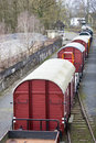 Train Wagons Stock Photography