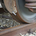 Train wheel Royalty Free Stock Photo